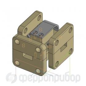 Ферритовый волноводный циркулятор Ka-BAND FDCW-2109 ФВЦН1-131А