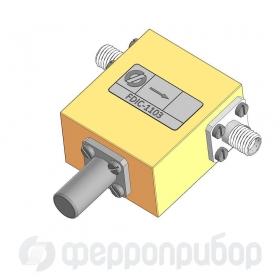 Ферритовый коаксиальный вентиль X-BAND  FDIC-1103 ФКВН2-132