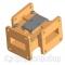 Ферритовый волноводный циркулятор С-BAND FDCW-2104 ФВЦН2-58А